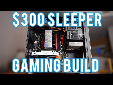 Intel AMD 300 Gaming PC Build 2017