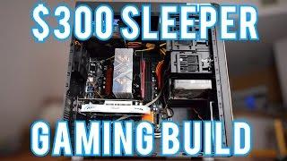 Intel/AMD $300 Gaming PC Build 2017!