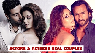 TOP 10 Famous Real Life Bollywood Couples | Shahid Kapoor | Aishwarya | Valentine's Day Special