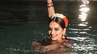 Manushi Chhillar's Official Shoot for Miss World 2017 Behind The Scenes