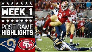 Rams vs. 49ers (Week 1) | Game Highlights | NFL