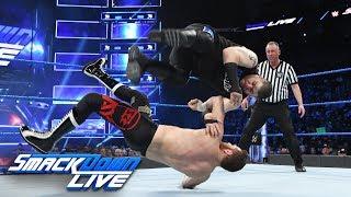 Kevin Owens vs. Sami Zayn - Winner faces AJ Styles at WWE Fastlane: SmackDown LIVE, Feb. 6, 2017