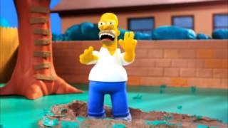 Los Simpson (de plastilina animado)
