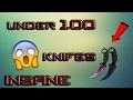 Download Video Download TOP 10 CSGO KNIFE!! UNDER 100$ 2017 3GP MP4 FLV