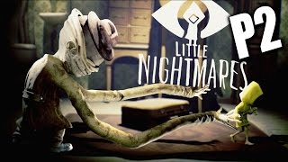 Little Nightmares《小小夢魘》Part 2 - 恐怖長手怪