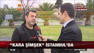 Kara şimşek istanbul'da.