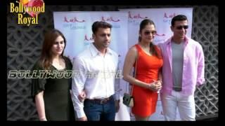 Ajay Degvn, Isha Koppikar, Javed Jaffery launch Sheesha Sky Lounge Part  2