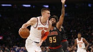 Kristaps Porzingis Scores 30 vs Hawks! Knicks Back to .500! 2017-18 Season