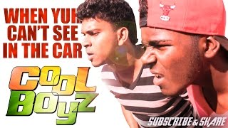 When Yuh Can't See In The Car - CoolboyzTV- Guyanese Jokes 2017