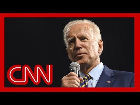 CNN Poll Joe Biden regains double digit lead over 2020 Democratic field