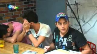 اضحك على كلام انيس ورفائيل ومحمد ع على طاولة طعام 2015