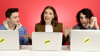 """The """"Stranger Things"""" Cast Finds Out Which Characters They Really Are"""
