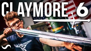 MAKING A SCOTTISH CLAYMORE SWORD!!! PART 6