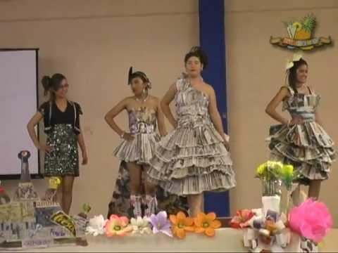 Vestido Reciclado Terceros Sec 20 Nov Valparaiso Zacatecas