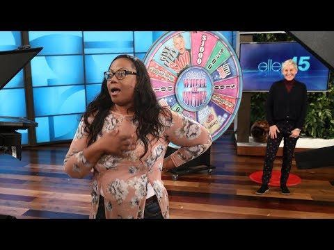 Ellen Plays Wheel of Riches with a Lucky Fan