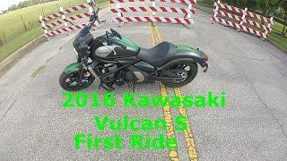 2016 Kawasaki Vulcan S First Ride   Review