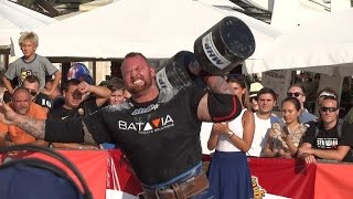 Worlds Strongman Champions League featuring Hafþór Júlíus Björnsson 2015 - Split Croatia