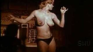 Candy Barr Does a Burlesque Shimy-Shake in Panties & Pasties
