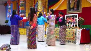 Welcome  Dance By Ugyen and Friends  ( NY Bhutanese Losar 2016)