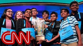 National Spelling Bee names 8 champions in historic win
