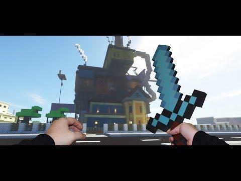 Xxx Mp4 Realistic Minecraft Hello Neighbor The Neighbor Is BACK 3gp Sex