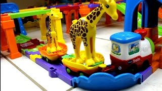 Smart Wheels City: Zoo Escape! Vtech Go! Go! Smart Wheels Toys with Duplo Lego Zoo Animal Toys