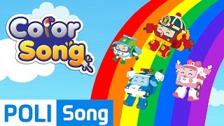 04.Color Song | Robocar Poli Educational Nursery Rhymes