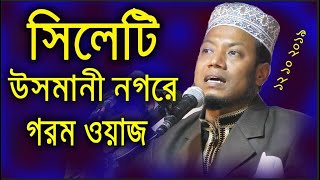 Bangla Waz Maulana Mufti Amir Hamza Part 1 বিষয়ঃ সানে রিসালাত Tazpur osmaninogor Sylhet 2017