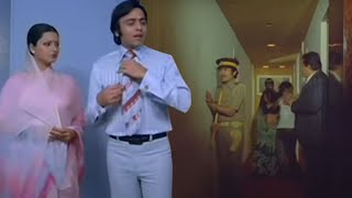 Hotel Raid, Vinod and Rekha in Trouble - Ghar Scene
