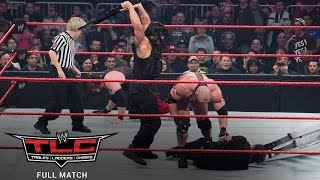 The Shield First Match  vsTeam Hell No & Ryback TLC Full Match