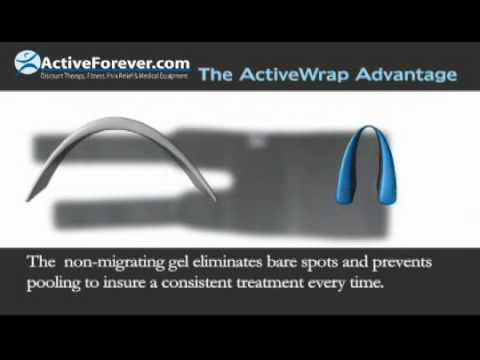 ActiveWrap Knee Heat & Ice Wrap A16407