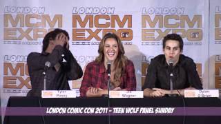 Teen Wolf Sunday Part 1 MCM London Comic Con October 2011