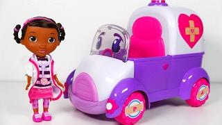 Doc McStuffins and Rosie The Rescuer with Many Surprise Toys