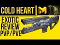 Great DPS Weapon Cold Heart Exotic Review Destiny 2 mp3