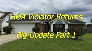 Pt 2 Return of the HOA Violator - New Lawn Service Client