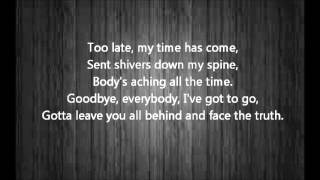 Bohemian Rhapsody - Kurt Hugo Schneider - Lyrics