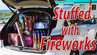 Blowing Off $6K Worth of Fireworks (From Sky King Fireworks)