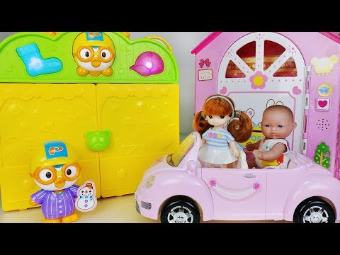 Xxx Mp4 Baby Doll Bag House And Dress Change Toys Pororo Car Play 아기인형 가방 드레스 하우스 뽀로로 장난감놀이 토이몽 3gp Sex