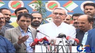 Jahangir Khan Tareen and MQM Media Talk