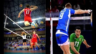 Best Volleyball Opposites in the World  |HD|