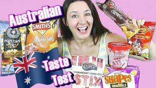 AUSTRALIAN TASTE TEST Iced Vovo ice cream and more
