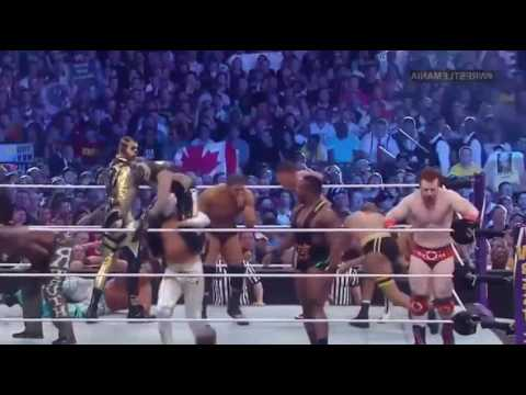 Wwe- 40 Man Andre The Giant Memorial Battle Royal Wrestlemania  30 HD