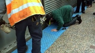 Why This Good Samaritan Reached Underneath a Train to Save Trapped Teen