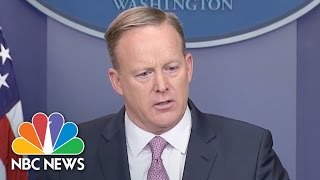 Sean Spicer To WH Press Corps: 'Our Intention Is Never To Lie To You' | NBC News