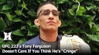 "UFC Champ Tony Ferguson Talks 223 Fight With Khabib, The ""Cringe"" Label, GSP ""Money Fight"" + More!"