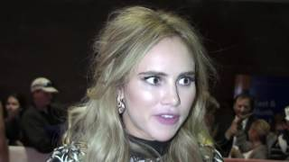 THE BAD BATCH Premiere Interview with Suki Waterhouse