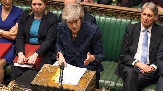 Theresa May addresses MPs in the Commons amid calls for second Brexit referendum | ITV News