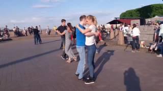 Zouk open air in Saint Petersburg - Vitaly & Anna, Dimon & Oksana