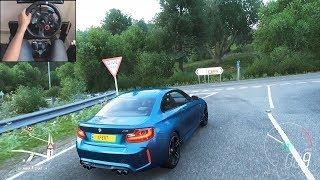 BMW M2 - Forza Horizon 4   Logitech g29 gameplay