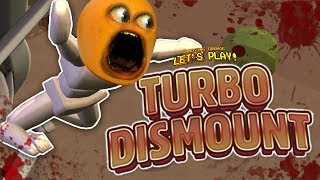 TURBO DISMOUNT: Don't Lose Your Head! [Annoying Orange Plays]